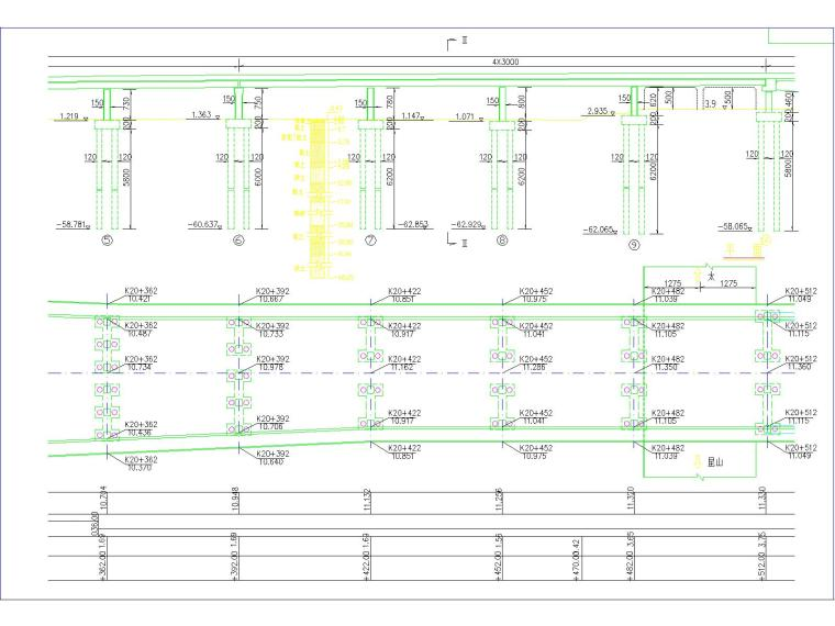 30+110+30m钢管混凝土中承式提篮拱特大桥梁施工图(175张)_8