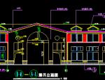 两层武汉长江边豪华会所设计建筑施工图