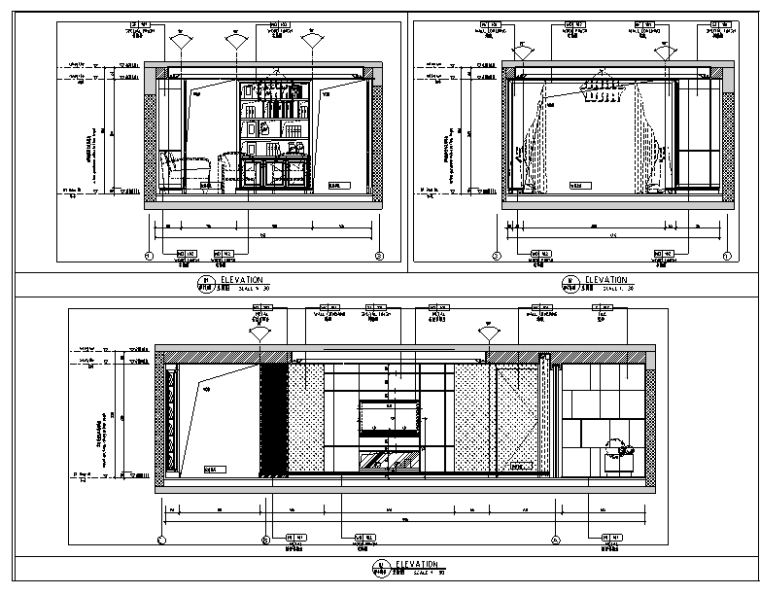 [上海]大宁金茂府样板间施工图(附概念方案、效果图)