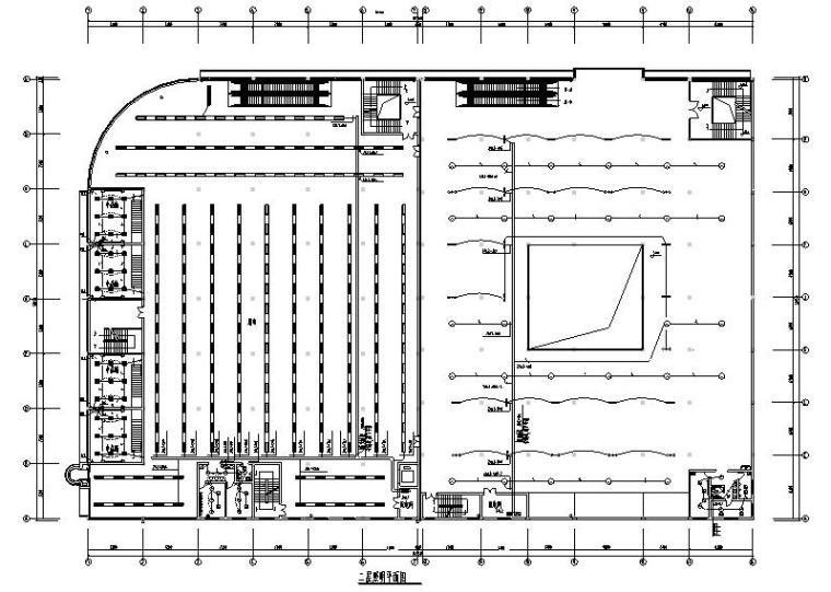 三层超市及配电所民用建筑全套电气系统图纸