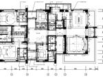[深圳]邱德光|前海壹方中心现代中式风格住宅设计施工图+物料书+效果图