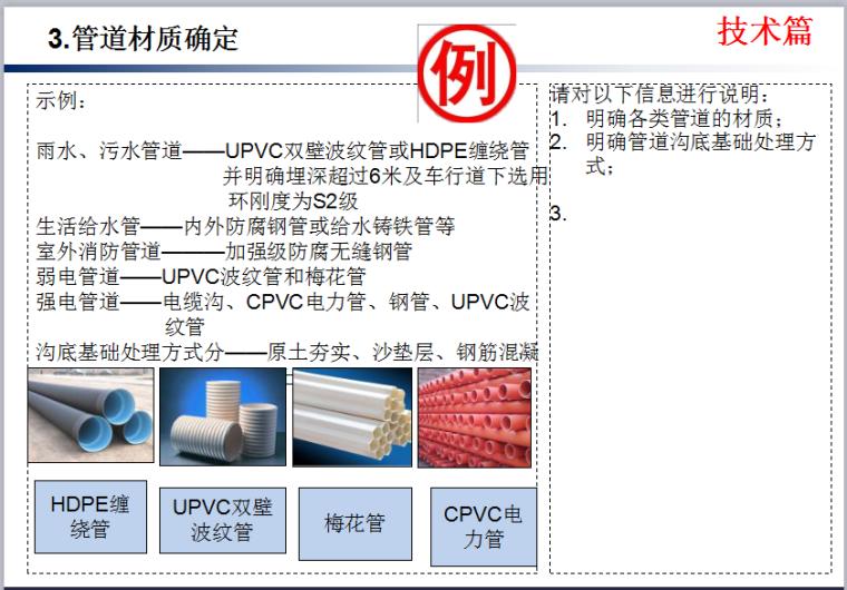 知名企业《室外管网技术质量标准交底》模板