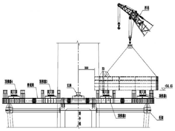 特大桥梁5#墩边跨钢箱梁顶推施工作业指导书