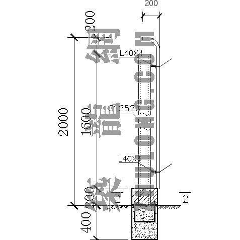 文明施工围蔽图(广州市政园林局标准)