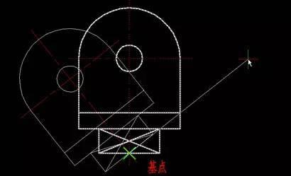 CAD技巧之移动、旋转和复制_5