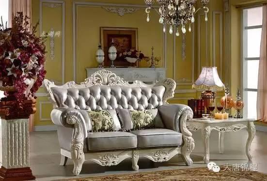 欧式家具设计特点和分类