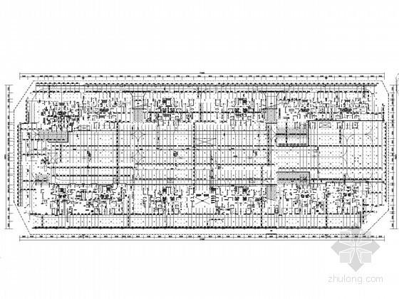 [海南]12万平高层住宅小区给排水施工图(太阳能热水 气体灭火 含4万平大型车库)