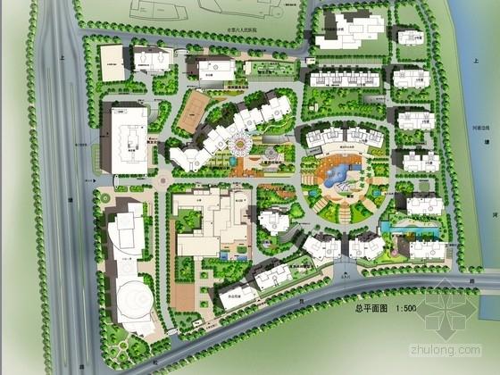 [杭州]生态花园式居住小区园林景观设计投标方案(含文本)