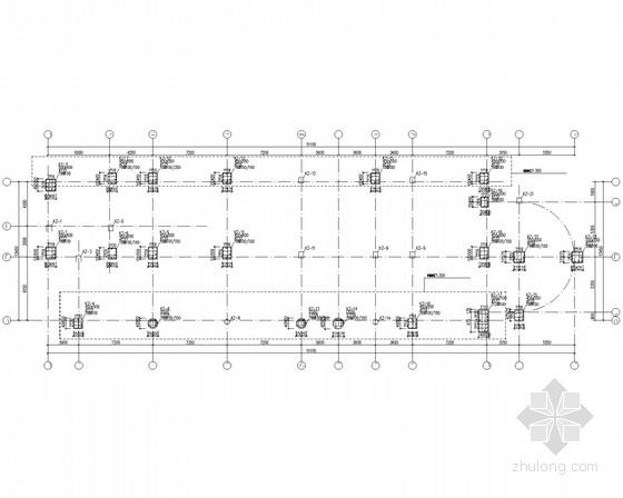 五层教学楼框架结构施工图