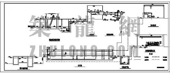 污水处理厂整套工艺施工图