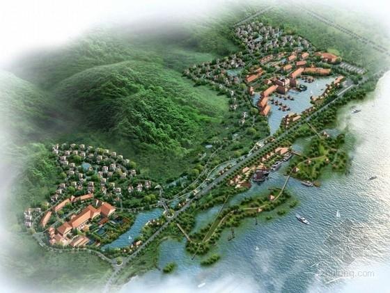 [无锡]际温泉旅游度假养生中心景观设计方案