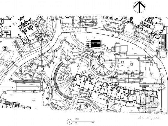 [浙江]高档住宅小区园林景观全套施工图纸
