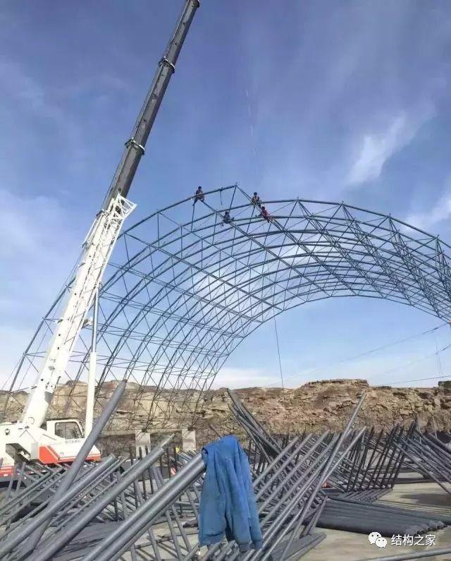 钢结构网架吊装施工全方位解析