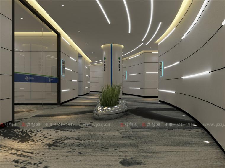 中国国电龙源集团江苏分公司智能监控指挥中心办公空间项目设计-4公共过廊区.jpg