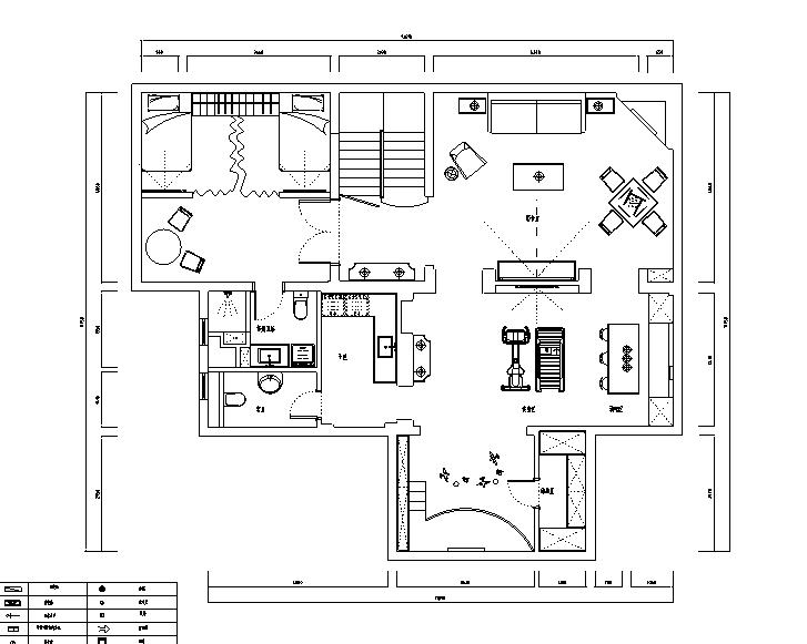 保利叶语|简欧风住宅设计施工图(附效果图)