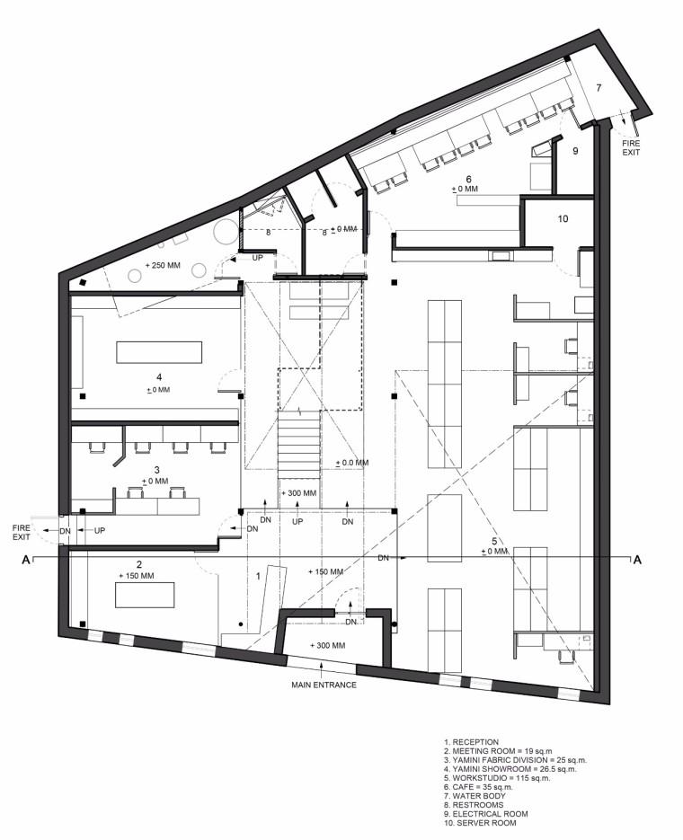 仓库改造后的办公室——悬浮于建筑中心的混凝土楼梯-1522677828641688.jpg