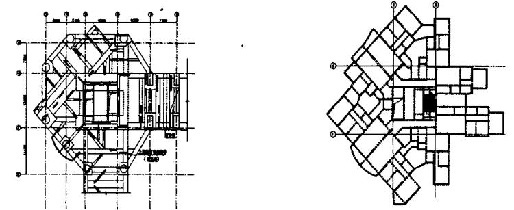 超大型转换层结构设计与分析方法研究