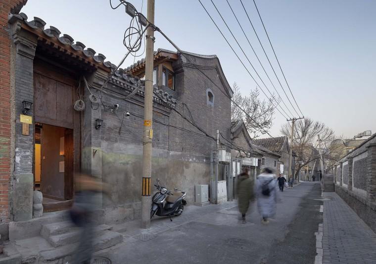 北京前门长巷三条合院改造-2