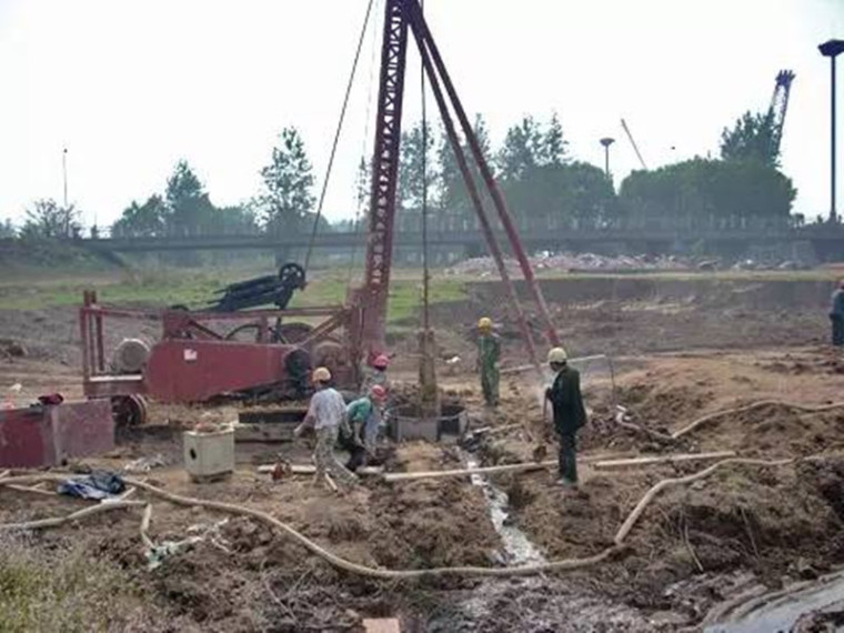 超流态混凝土灌注桩施工工法