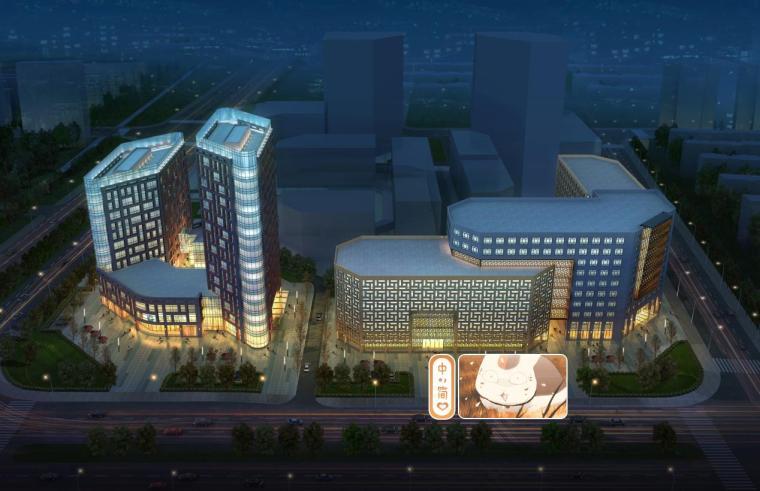 [四川]高层现代风格多功能商业区建筑设计方案文本(含CAD)