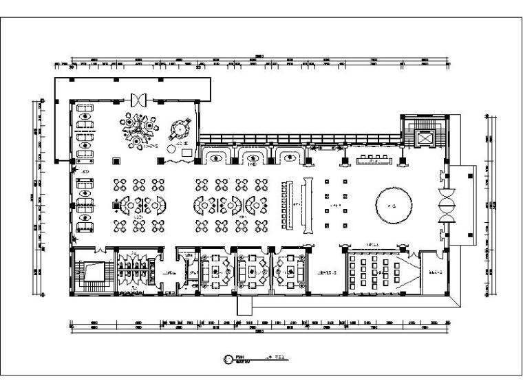 [西安]详细完整的会所设计施工图