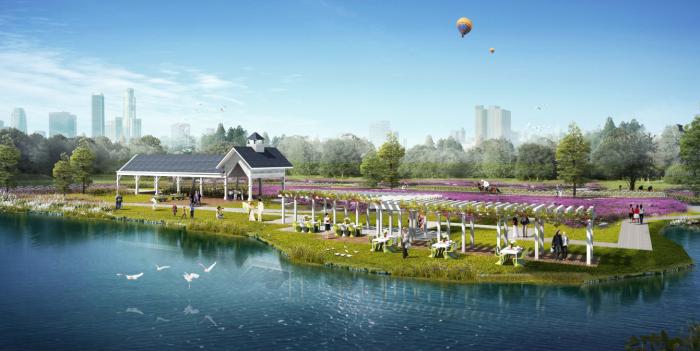 [四川]浪漫休闲婚庆主题公园景观设计方案