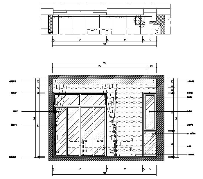 【江苏】中式风格别墅设计施工图(效果图+pdf图纸)_4