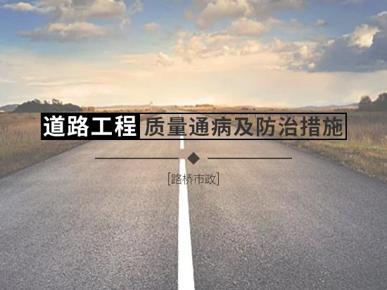 路基/路面等14种道路施工质量通病的防治与处理