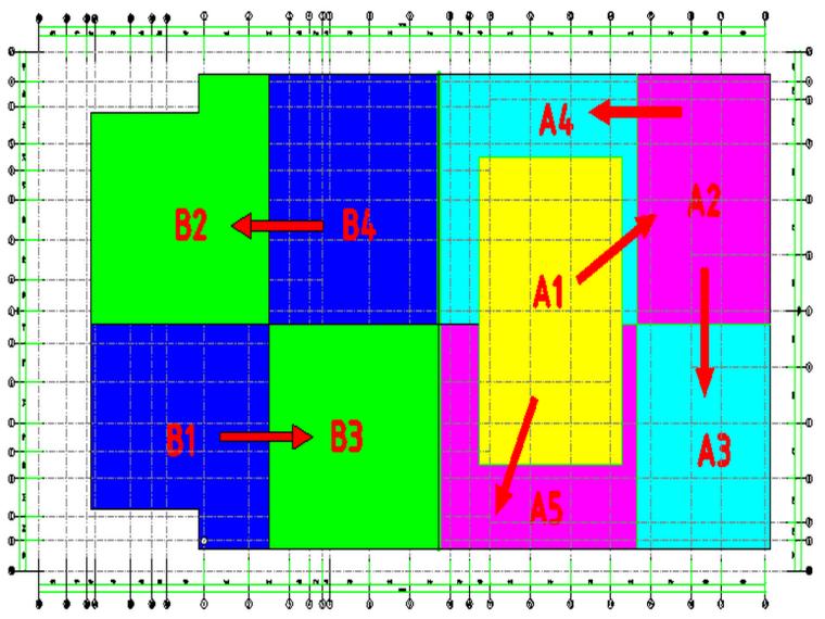 甘肃文化艺术剧院大体积混凝土施工方案(四层钢框架支撑+钢砼框剪结构)