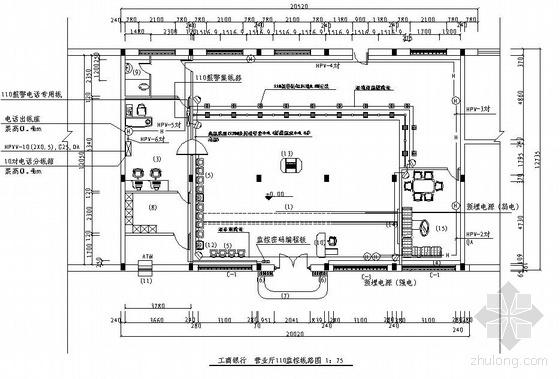 营业厅110监控线路图
