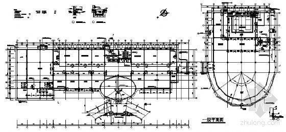 某公司六层办公楼建筑施工图-3