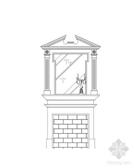 CAD欧式家具图块