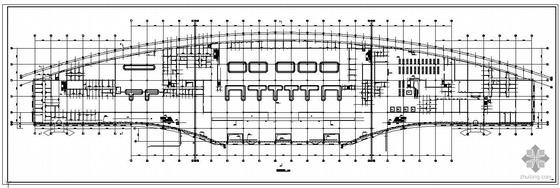 济南某机场航站楼幕墙结构设计图