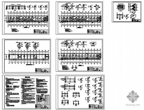 某三层砖混综合楼结构设计图纸