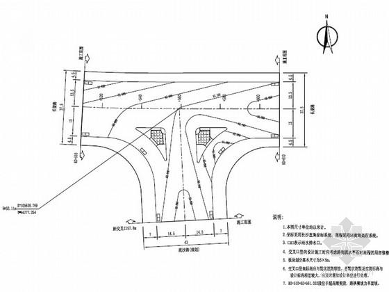 [湖南]城市次干路路面工程施工图设计33张