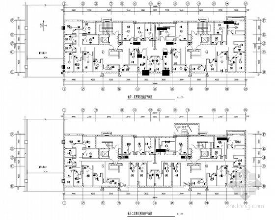 二类高层居住建筑电气施工图(图纸清晰)