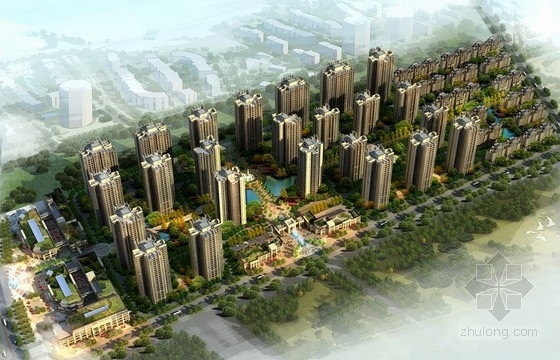 [重庆]欧式风格住宅区规划及单体设计方案文本