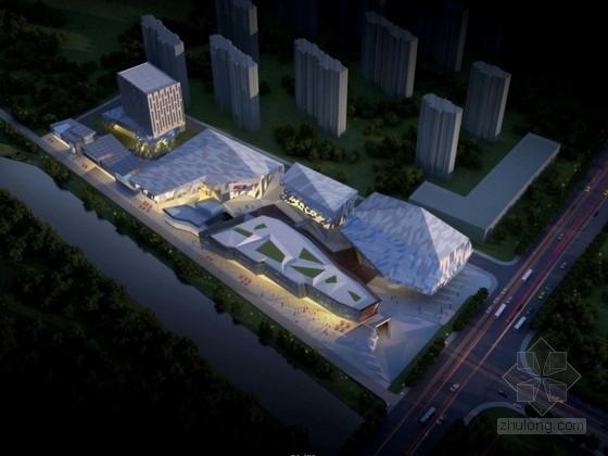 [上海]大型商业综合体建筑规划方案文本