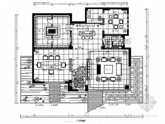 [福建]产权式时尚现代四层别墅样板房装修图