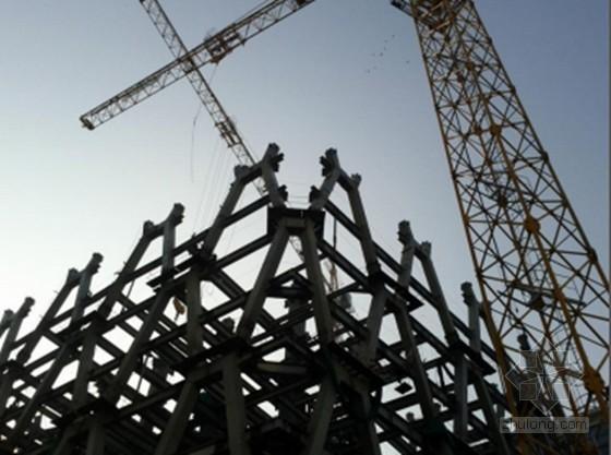 [QC成果]蜂窝状异形钢柱安装精度控制
