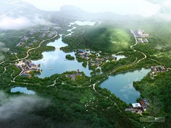[江苏]传统环湖休闲旅游度假区规划设计方案文本(知名设计院)