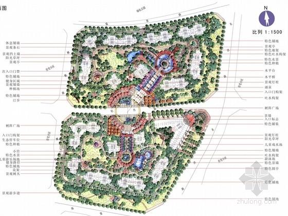 [成都]生态典雅现代诗意庭院景观概念规划设计方案