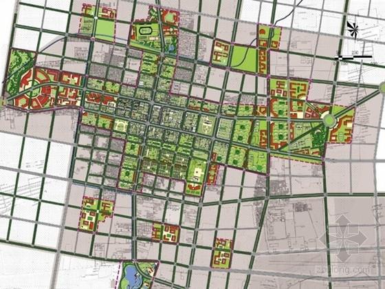 [内蒙古]园林绿色活力新城总体设计方案