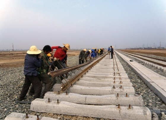 高铁工程无砟轨道铺设监理细则(500m长钢轨铺设)