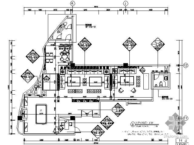 豪华KTV空间VIP房装修图