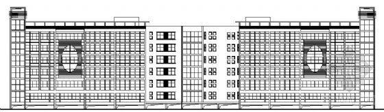 [湖南省长沙市]某职业中专学校教学楼建筑方案图及节能计算书