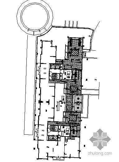 某建筑架空层景观施工图