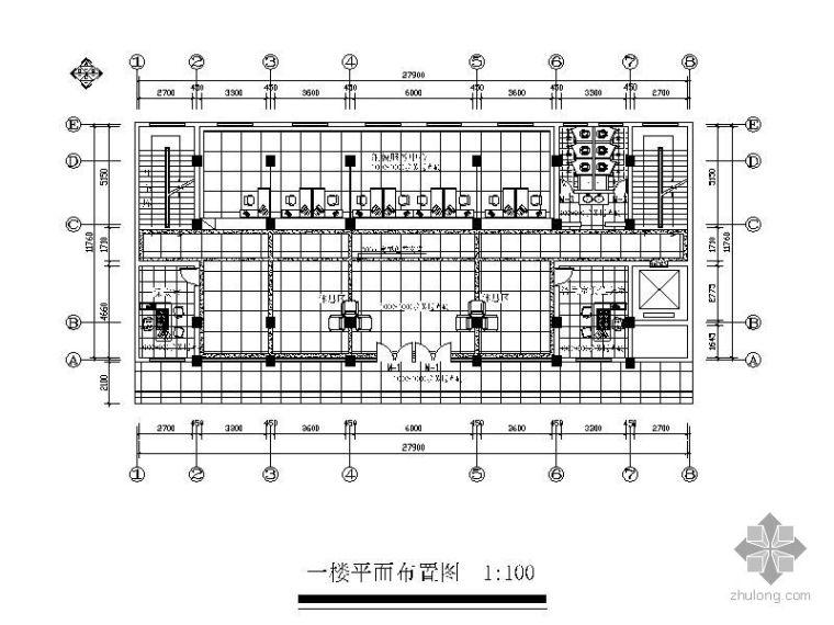 [株洲]某地税局办公空间毕业设计