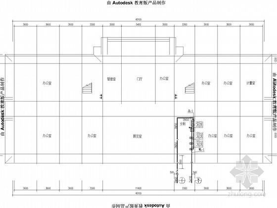[浙江]小型办公楼施工图(全专业)