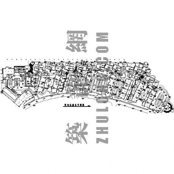 园林景观工程施工图(成都万科城市花园)三